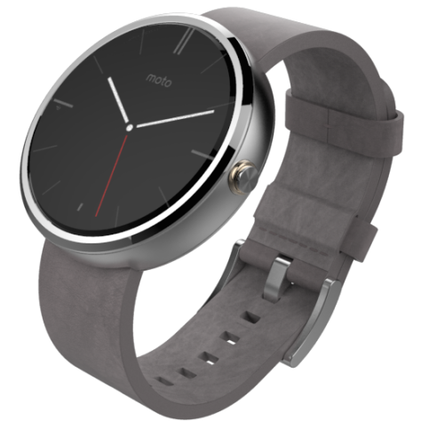 Motorola Moto 360 Android Wear Smartwatch