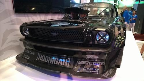 Ken Block Hoonigan Ford Mustang CES 2015