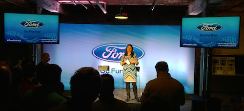 Angie Kozleski Introduces The Ford NAIAS 2015 Event