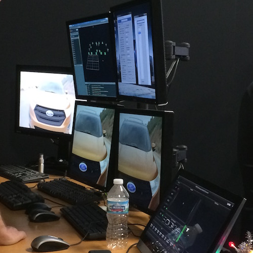Ford HQ Virtual Reality 4k Rendering Hardware