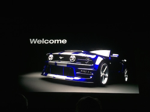 Ford Mustang 2016 Welcome