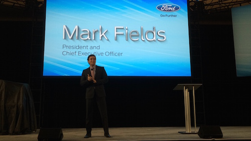 Mark Fields CEO of Ford Motor Company