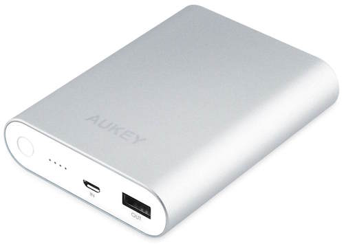 Aukey 10k mAh Battery Fast Charger