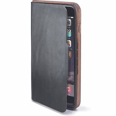 Grovemade iPhone 6 Plus Leather Walnut Case