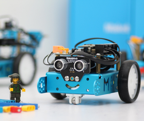 mBot Makeblock blue robot