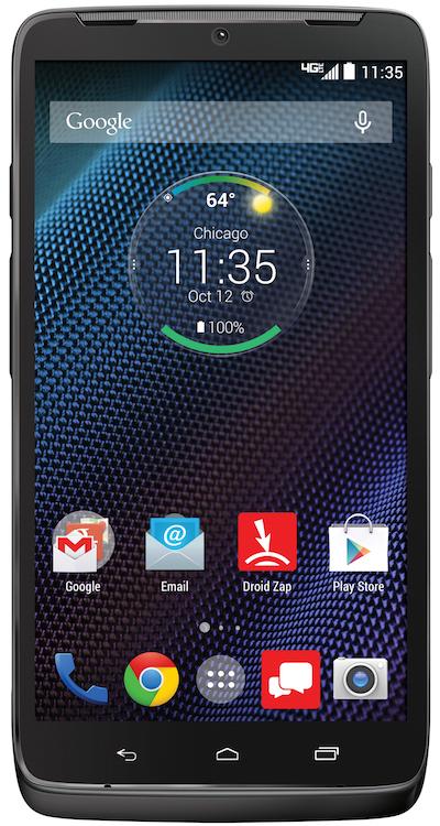 Motorola DROID Turbo Ballistic Front