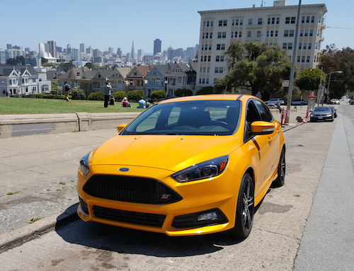Ford Focus ST Manual Painted Ladies SF