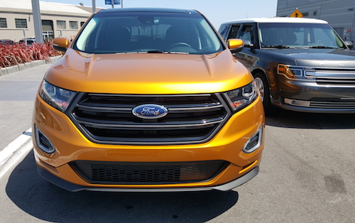Ford Edge Crossover Ford Trends 2015