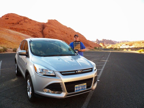 Ford Escape At Valley of Fire Chris Rauschnot