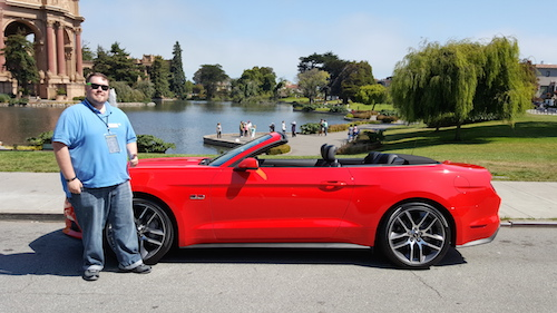 Ford Mustang GT V8 5 Chris Rauschnot Palace of Fine Arts SF
