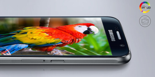 Samsung Galaxy S6 Super AMOLED Display