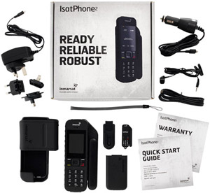 IsatPhone 2 Inmarsat Satellite Phone Kit