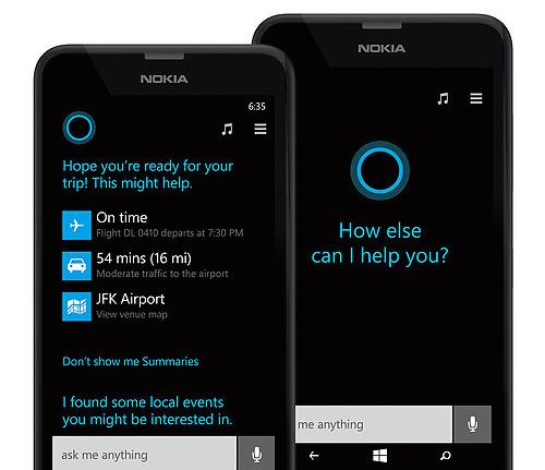 Microsoft Lumia 635 Cortana