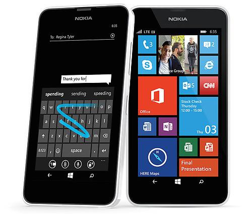 Microsoft Lumia 635 Live Tiles