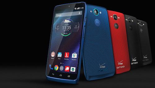 Motorola DROID Turbo Smartphone Lineup