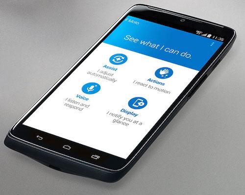 Motorola DROID Turbo Voice Assist