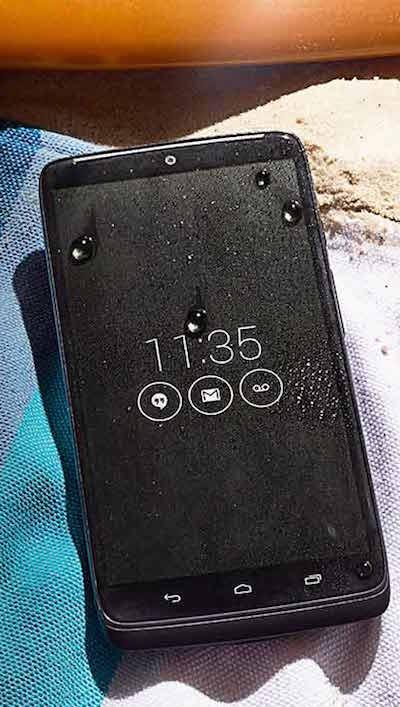 Motorola DROID Turbo Water Repellent