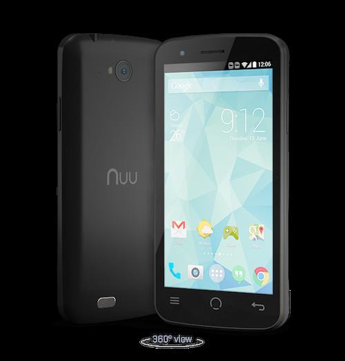 NUU Mobile X3 Unlocked Dual SIM Android Smartphone