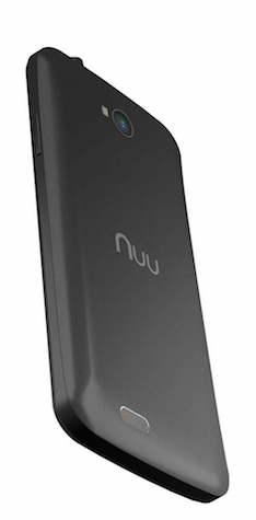 NUU Mobile X3 Smartphone Back
