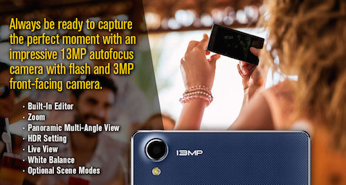VeryKool s6001 Cyprus 13MP Camera
