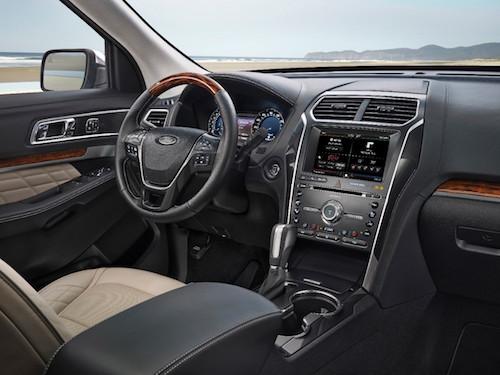2016 Ford Explorer Dash