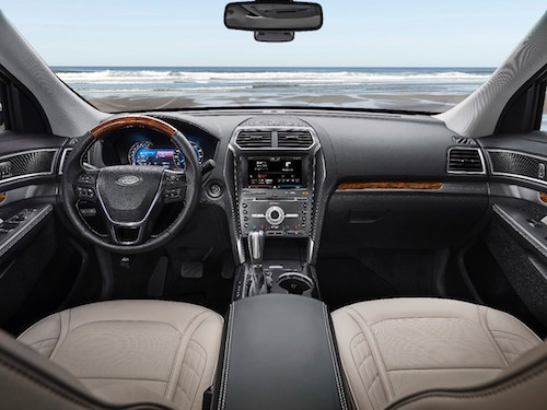 2016 Ford Explorer Inside