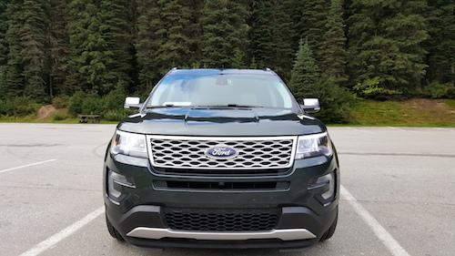 2016 Ford Explorer Platinum Explore More Trip