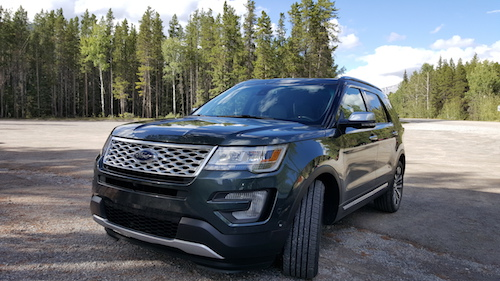 2016 Ford Explorer Platinum Johnson Lake Canada