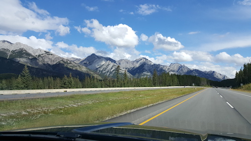 Alberta Passenger Canadian Mountains