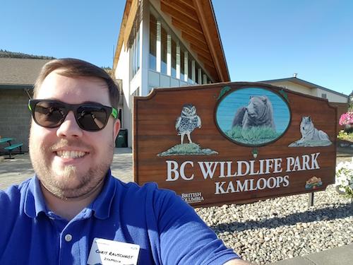 Chris 24k Selfie BC Wildlife Park Kamloops