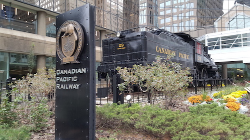 Canadian Pacific Railroad Calgary YYC