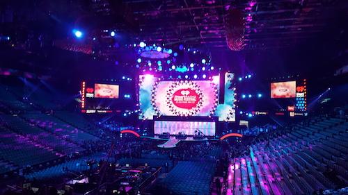 iHeartRadio Music Festival MGM Grand Garden Arena Las Vegas 2015