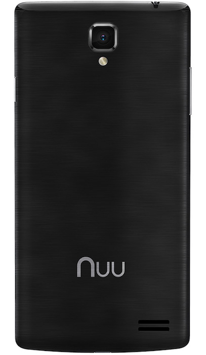 NUU Mobile Z8 Unlocked Smartphone Back