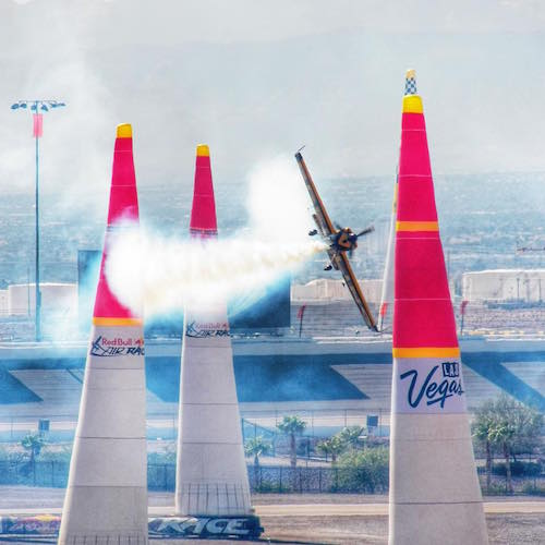 Red Bull Air Race Las Vegas Breitling Airplane 2014