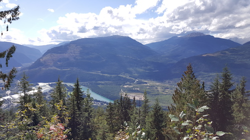 Revelstoke Valley View From Mount Revelstoke