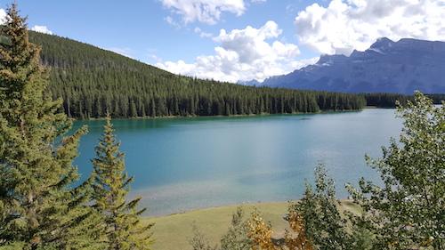 Two Jack Lake Alberta Canada