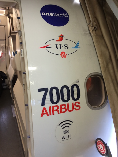 American Airlines 7000 Airbus Airplane