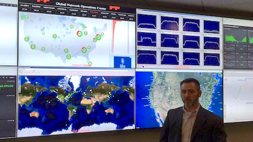 Gogo Network Operations Center 2015