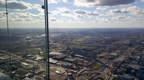 Skydeck Chicago Willis Tower From Above