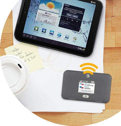 AT&T Unite Express WiFi and Tablet