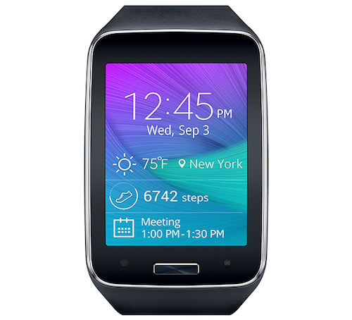 Samsung Gear S Connected Smart Wearable