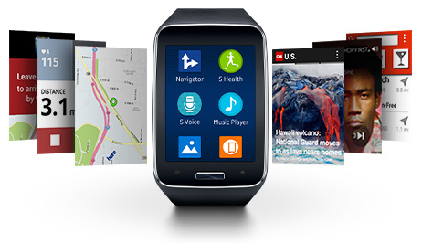 Samsung Gear S Tizen Apps
