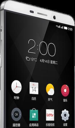 LeEco Le 1 Pro EUI Android Skin