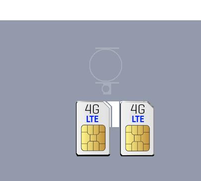 NUU Mobile N4L Dual SIM Cards