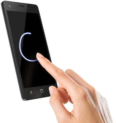 NUU Mobile N4l Wake Up Screen Gesture