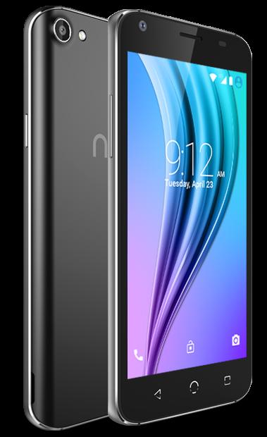 NUU Mobile Smartphone Front Back