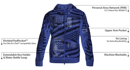 SeV Knowmatic Hoodie Pocketmap X-Ray