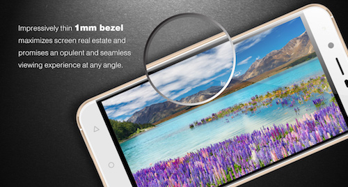 VeryKool SL5011 Screen Bezel Design