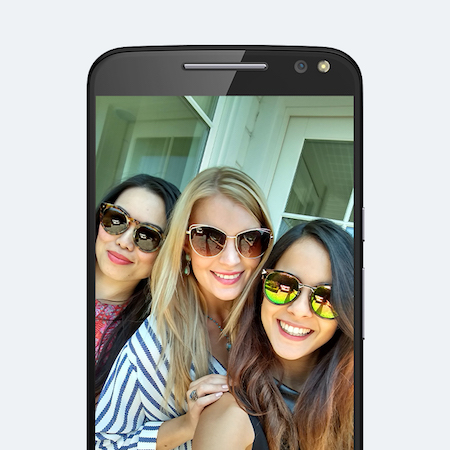 Motorola DROID Turbo 2 Camera Selfie Flash