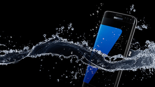 Samsung Galaxy S7 Edge IP68 Water Resistant Rated